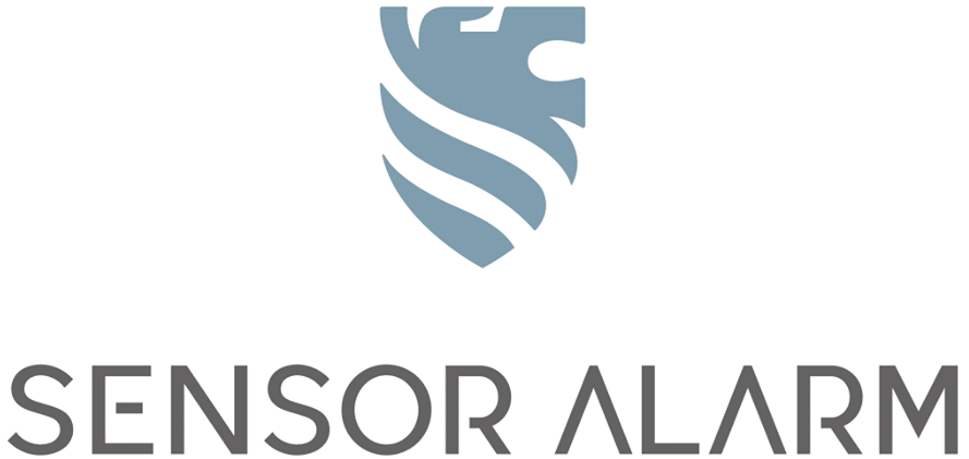 Sensor alarm logo