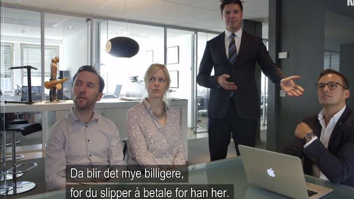 Faksimile: NRK Folkeopplysningen